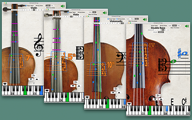 Fingering Strings Screenshot 2