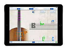 Fingering Strings iPad Screenshot 1