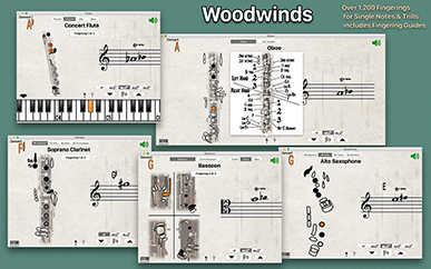 Fingering Woodwinds Screenshot 2